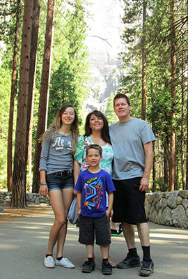 family, yosemite, love